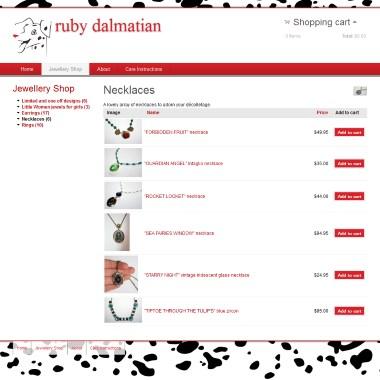 Ruby Dalmatian